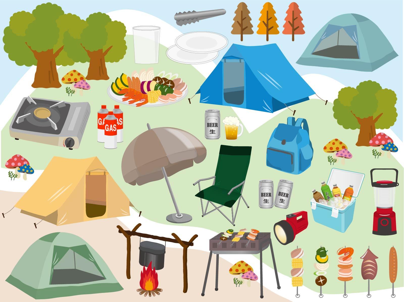 キャンプ用品はレンタルがおすすめの理由とは?
